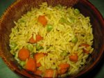 Rice With Carrots and Peas (Rice Cooker)