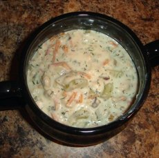 Slow Cooker Salmon Chowder