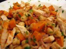Chicken & Black Sesame Salad