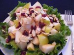 Best Pear and Almond Salad (Low Cal!!!)