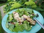BBQ Chicken With Greek Salad