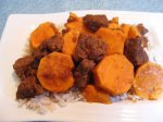 Beef Tagine With Sweet Potatoes