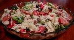 Pasta Salad Con Salami