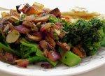 Sautéed Broccoli and Mushrooms