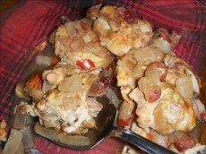 John's Crock Pot Cranberry Chicken