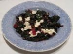 Swiss Chard With Currants and Feta
