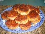 Honey Soy Glazed Chicken Burgers/Rissoles
