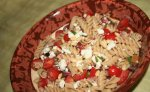 Rustic Mediterranean Pasta With Tomatoes