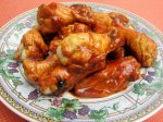 Chicken Wings With BBQ Sauce for the Crock Pot!