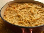 Savory Cheddar Cheese and Rice Cheesecake