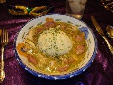 Mardi Gras Chicken and Sausage Gumbo