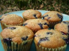Blueberry Banana Snack Cakes