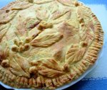Mrs Miggin's Pie Shoppe - Old English Bacon and Egg Pie!