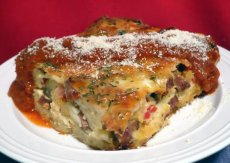 Italian Sausage Cheese Strata Recipe