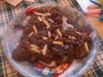 Triple Chocolate-Almond Explosion Cookies