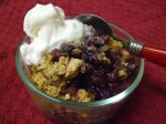 Easy Apple-Blueberry Crisp