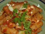 Greek Tomato Penne Pasta