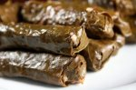 Dolmathakia Stuffed Grape Leaves