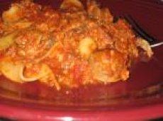 Meaty Crock Pot Lasagna