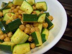 Moroccan Chickpea & Zucchini Salad (Africa)