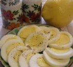 Greek Hard Boiled Eggs Easter Style