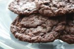 Quick and Easy Chocolate Toffee Cookies