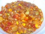 Brunswick Stew Georgia Style ( Chicken & Pork )