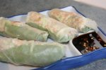 Spring Rolls, Sweet and Spicy