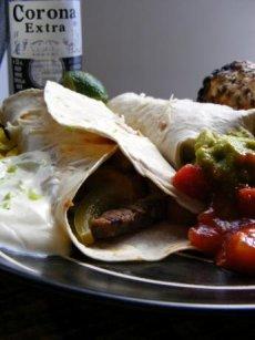 Steak Fajitas Corona