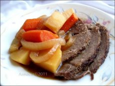 Old-Fashioned Beef Pot Roast