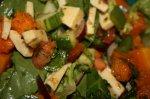 Caramelised Pumpkin Salad With Chilli Jam Juice Dressing