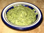 Basil and Roasted Garlic Pesto