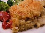 Cheesy Pesto Rice 'n Chicken Bake