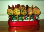 Christmas Cookie Lollipops