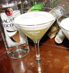 World's Easiest Pina Colada Rum Martini