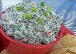 Creamy Crunchy Spinach Dip