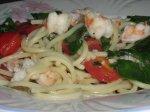 Low Fat Garlic Chicken Pasta