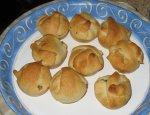 Cheesy Chicken Spinach Appetizer Puffs