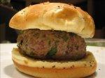 Blue Cheese Lamb Burgers