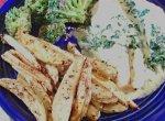 Chicken With Spinach (Supremes De Volaille a La Florentine)