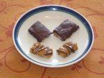 Gluten-Free Chocolate Caramel Crisp Bars