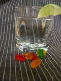 Clear Gummy Bear (Cocktail)