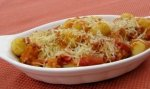 Gnocchi Bake With Pancetta and Red Onion