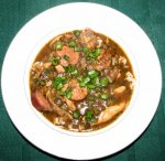 Authentic Cajun Chicken and Sausage Gumbo
