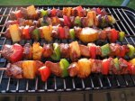 Nif's Grilled Hawaiian Chicken Skewers