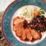 Grilled Duck Breast With Prickly Pear BBQ Sauce
