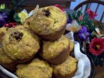 Pumpkin Crunch Mini Muffins