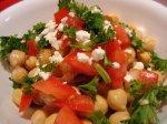 Chickpea Salad - Balila