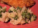 Creamy Cauliflower-Pea Medley