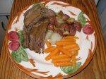 Lulu's French Dip Roast (crock pot recipe)